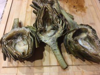 roasted artichokes recipe
