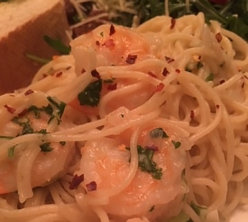 Shrimp and Pasta Bordelaise Recipe