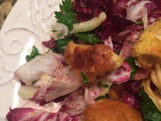 Radicchio, Fennel and Olive Panzanella Recipe