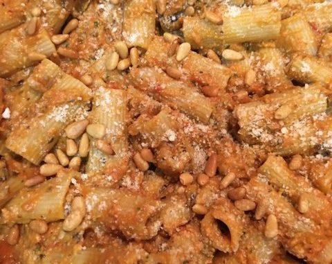 Rigatoni with Eggplant Puree Recipe