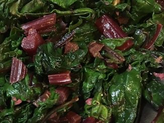 Sautéed Garlic Swiss Chard Recipe