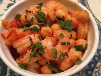Harissa Shrimp and Chickpeas Recipe