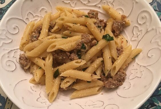 Penne with Italian Sausage Recipe