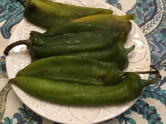 Oven Roasted Anaheim Peppers Recipe