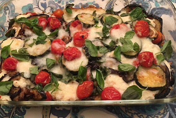 Eggplant Zucchini Bake Recipe