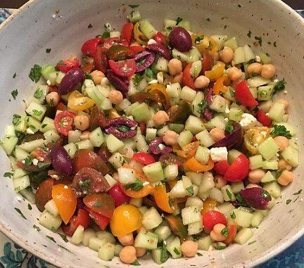 Mediterranean Cucumber Salad Recipe