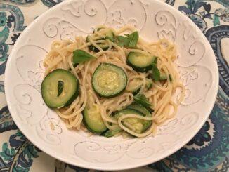 Spaghetti with Zucchini Recipe