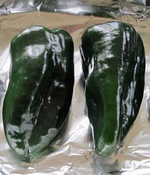 Oven Roasted Poblano Pepper Recipe