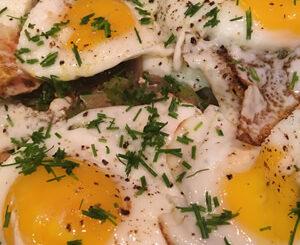 Salmon Hash and Eggs Recipe