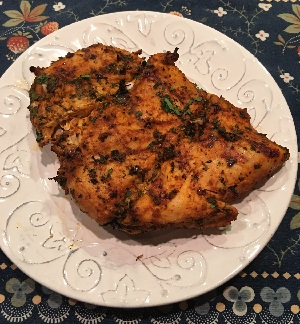 Grilled Moroccan Spiced Chicken Breast Recipe