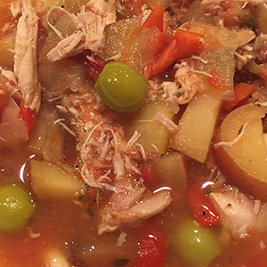 Slow Cooker Basque Chicken Stew Recipe