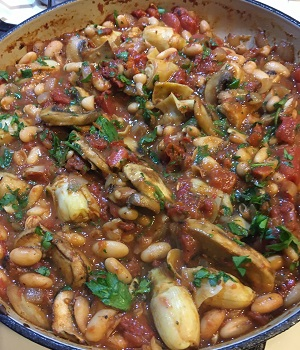 Tuscan White Bean Skillet Recipe