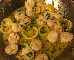 Lemon Garlic Shrimp Recipe