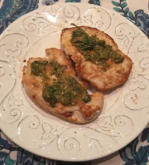 Pan Seared Turkey Cutlets with Mustard Wine Sauce Recipe